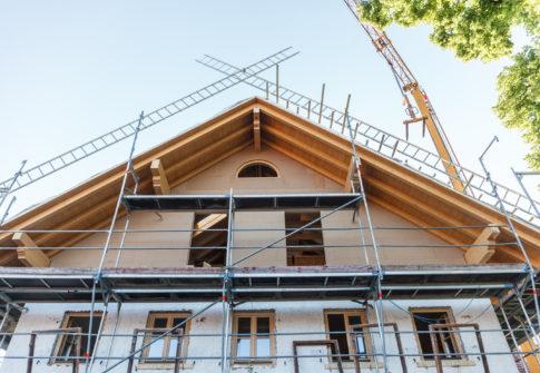 Dachausbau und Renovierung - authentisches Making of